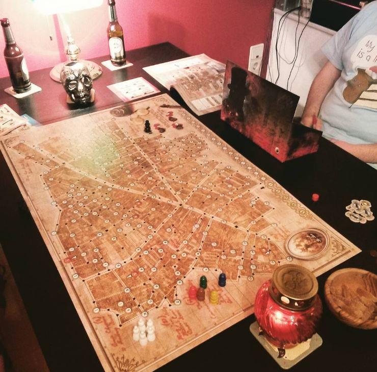 Spieleabend mit Whitechapel